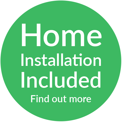 Home Installation Included