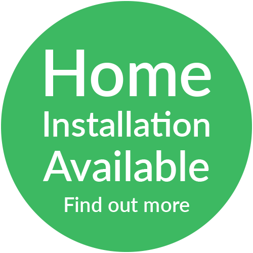 Home Installation Available