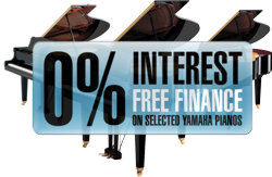0% Interest Free Finance On Selected Yamaha Pianos
