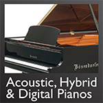 Acoustic, Hybrid & Digital Pianos - Click here...
