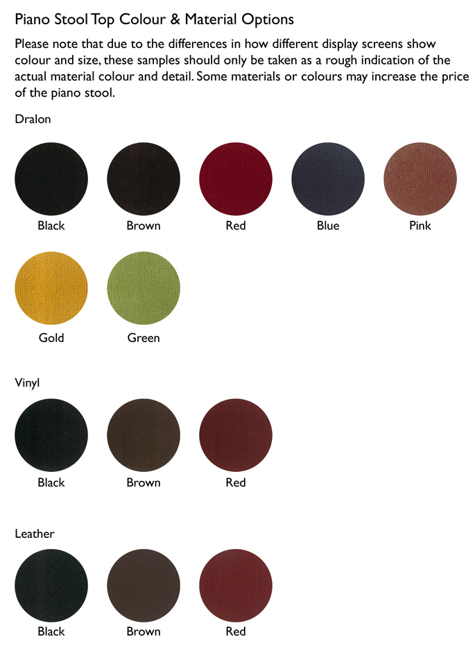 Top colours: