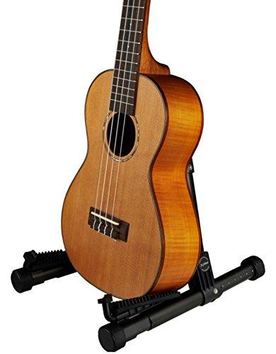 Meideal Folding Guitar Ukulele Violin Stand Red