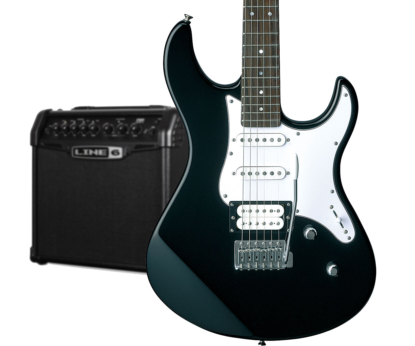 Yamaha Pacifica 112V Electric Guitar & Spider Classic Amp ...