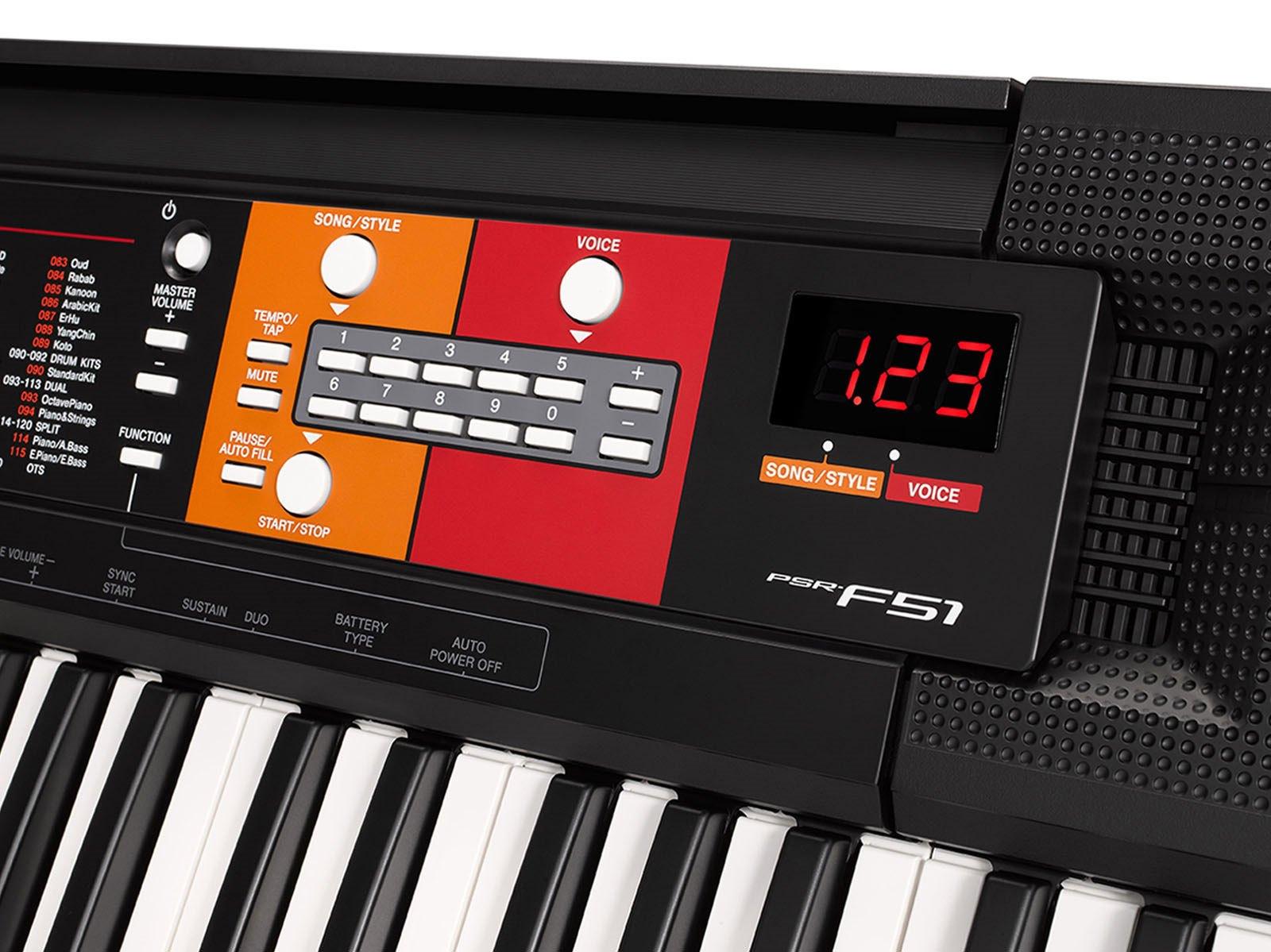 Psr F51 Home Keyboard