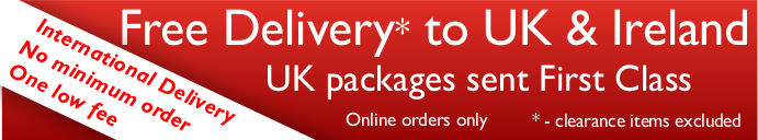 Free Delivery for Sheet Music and Music Book orders and low rates to other destinations