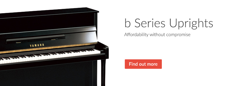 b Series Upright Pianos - Affordability without compromise