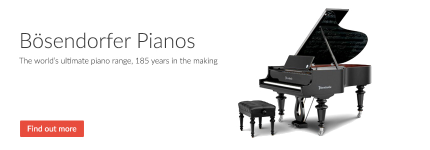Bösendorfer Pianos - The ultimate piano, 185 years in the making