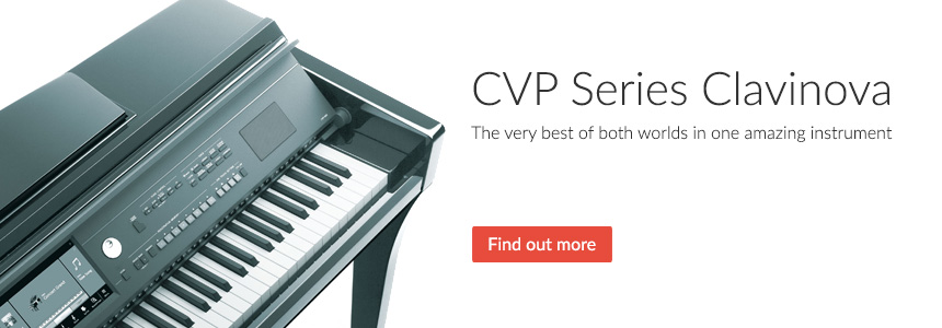 CVP Series Clavinova - The very best of both worlds in one amazing instrument