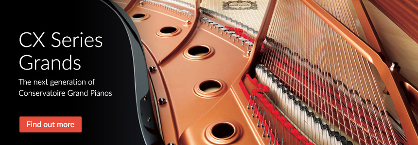 CX Series Grands - The Next Generation Of Conservatoire Grand Pianos