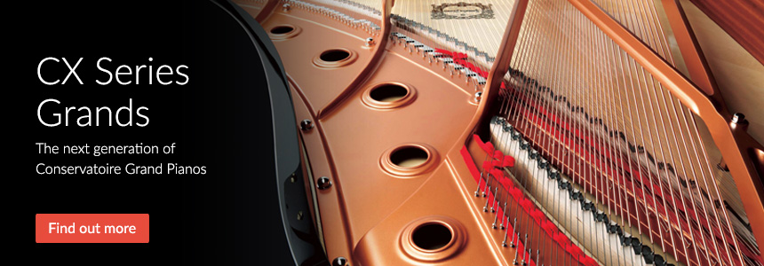 CX Series Grand Pianos - The next generation of Conservatoire Grand