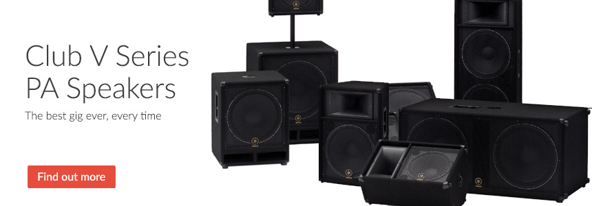 Concert Club V Series PA Speakers - The best gig ever, every time
