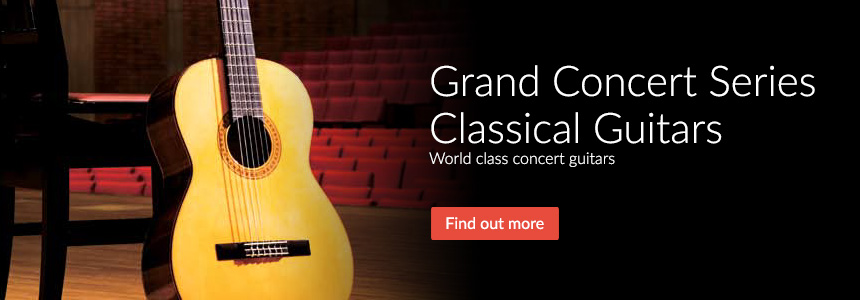 Grand Concert Series Classical Guitars - World Class concert guitars