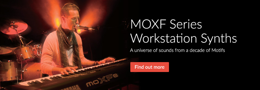 MOXF Series Workstation Synths - A universe of sounds from a decade of Motifs