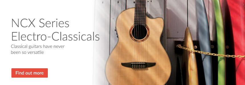 NCX Series Electro-Classicals - Classical Guitars have never been so versatile