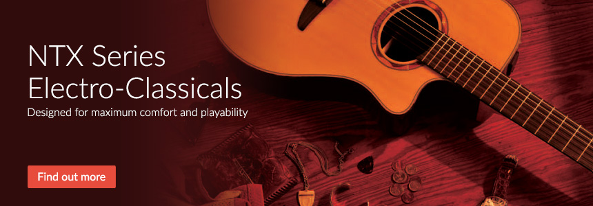 NTX Series Electro-Classicals - Maximum comfort and playability