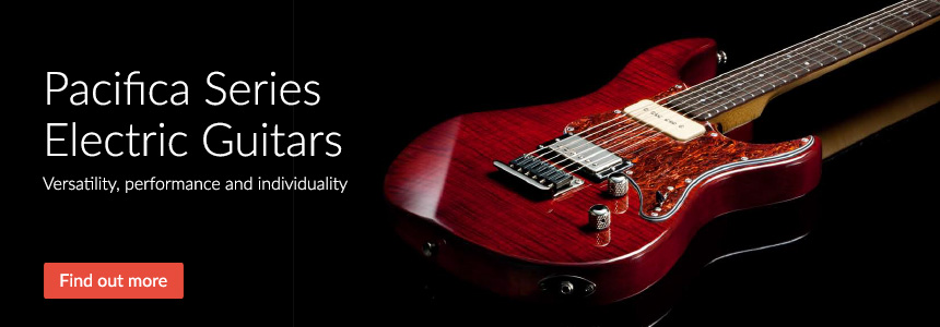 Pacifica Series Electric Guitars - Versatility, Performance and individuality
