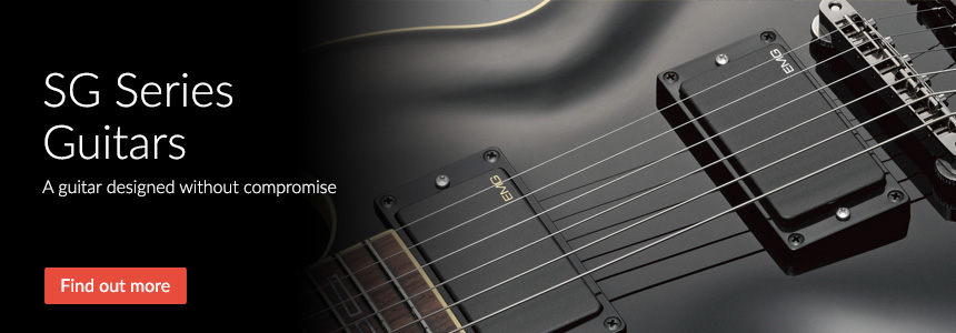 SG Series Electric Guitars - Designed without compromise