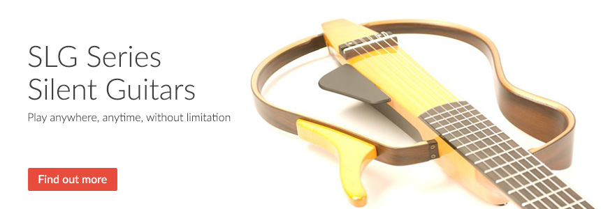 SLG Series Silent Guitars - Play anywhere, anytime, without limitation