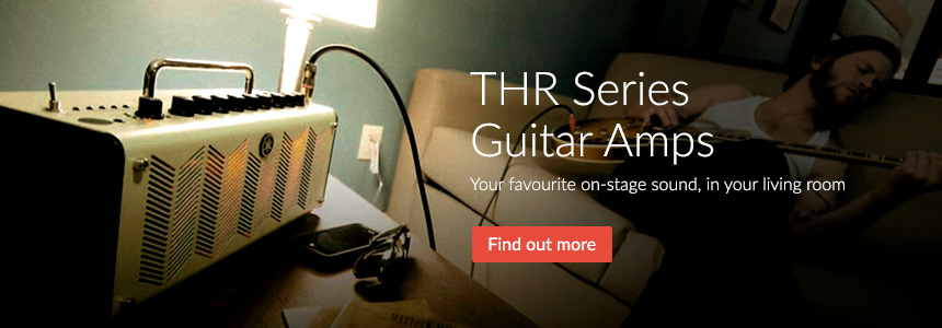 THR Series Guitar Amps - Your favourite on-stage sound, in your living room
