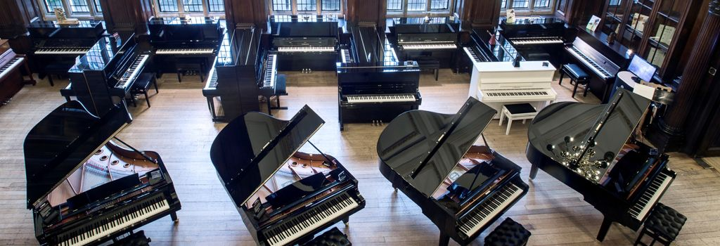 The breathtaking piano hall