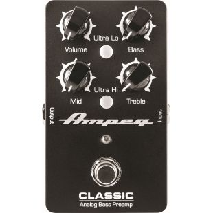 Classic Analog Bass Preamp Pedal