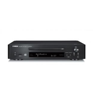 CD-NT670D MusicCast Music Player in Black