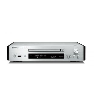 Yamaha CD-NT670D MusicCast Music Player in Brushed Silver