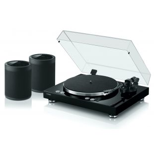 MusicCast Vinyl 500 Wireless Turntable with 2 MusicCast 20 Wireless Speakers
