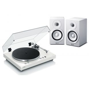 MusicCast Vinyl 500 Wireless Turntable with MusicCast NX-N500 Wireless Hi-Fi Speakers