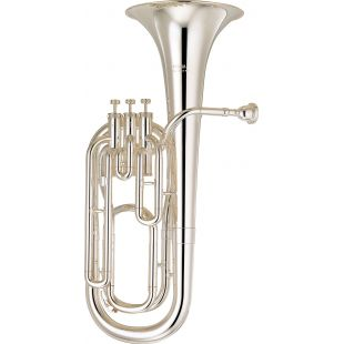 YBH-301 Mk II Bb Baritone Horn in Silver-Plated Finish
