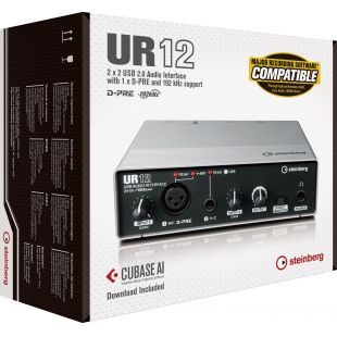 UR12 USB-Powered Audio/MIDI Interface
