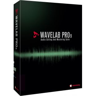 Wavelab Pro 9 Audio Editing & Mastering Software (Full Licence)