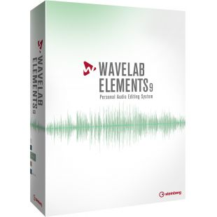 Wavelab Elements 9 Audio Editing Software (Full Licence)