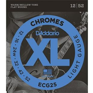 ECG25 Chromes - Regular Light Electric Strings