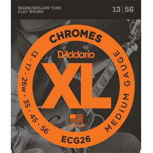 ECG26 Chromes - Medium Electric Strings