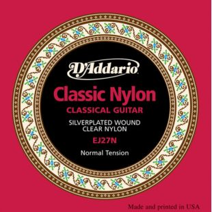 EJ27N Classic Nylon Normal Tension Classical Strings