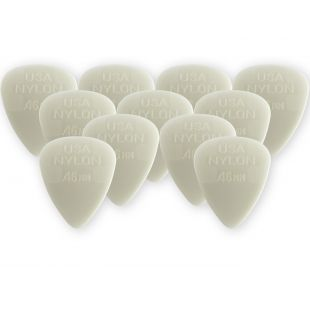 Nylon Standard Players Pack Plectrums, .46mm