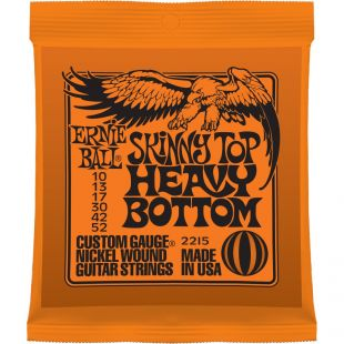 EB2215 Skinny Top Heavy Bottom Electric Guitar Strings 10-52