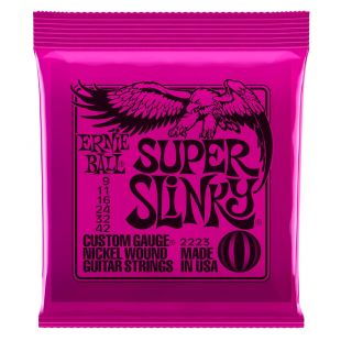 Super Slinky 2223 Nickel Guitar Strings 9-42