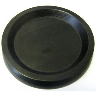 Piano Caster Cup - Large Black