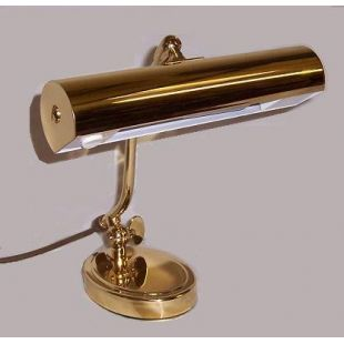 N800B Piano Lamp in Polished Brass