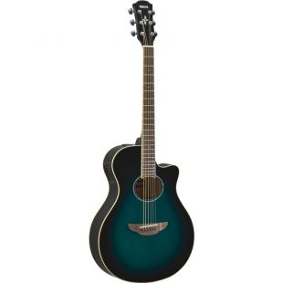 APX600 Electro-Acoustic Guitar In Oriental Blue Burst Finish