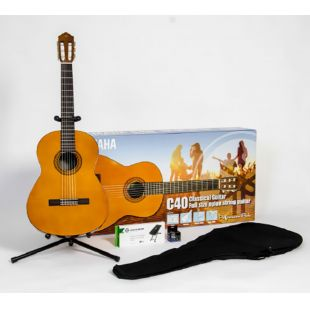 C40II Classical Guitar Performance Package
