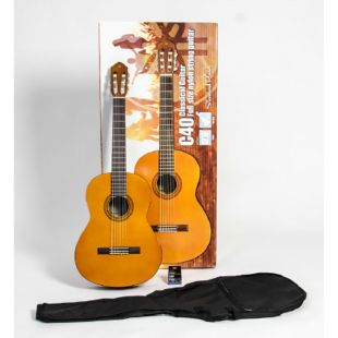 C40II Classical Guitar Standard Pack