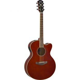 CPX600 Electro-Acoustic Guitar In Root Beer Finish