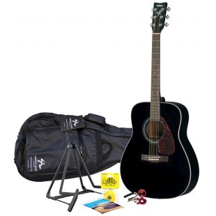 F370 Black Acoustic Guitar Pack