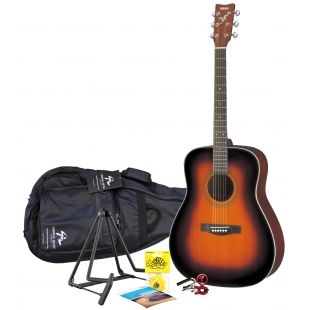 F370 Sunburst Acoustic Guitar Pack
