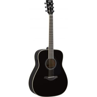 FG-TA TransAcoustic Guitar In Black Finish