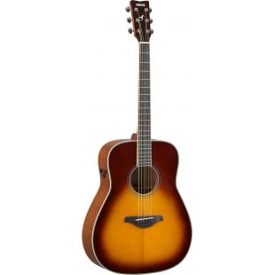 FG-TA TransAcoustic Guitar In Brown Sunburst