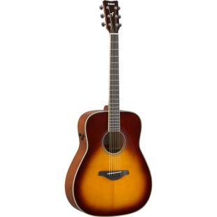 FS-TA TransAcoustic Guitar In Brown Sunburst Finish